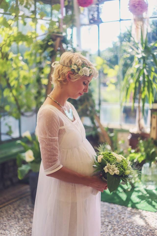 Shooting inspiration Mariage botanique par Pauline Franque