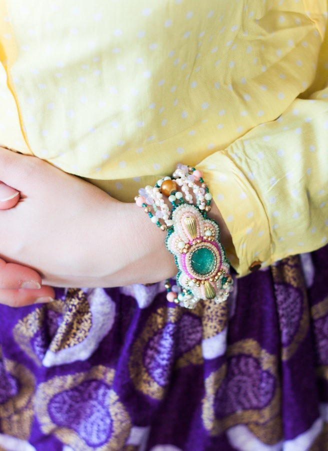 dissident sheep bijoux brodés haute couture Easy Bracelet Mon Carrousel 6 (1 sur 1)